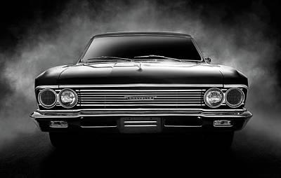 Chevrolet Digital Art - Dark Horse by Douglas Pittman