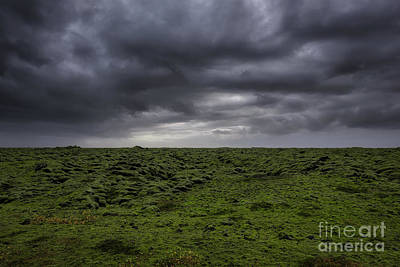 Photograph - Dark Iceland Clouds  by Michael Ver Sprill