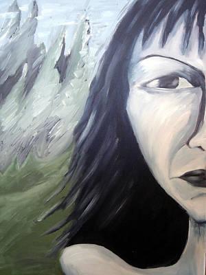 Dark Art Print by Jenni Walford