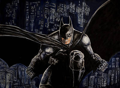 Painting - Dark Knight by Sylvia Thornton