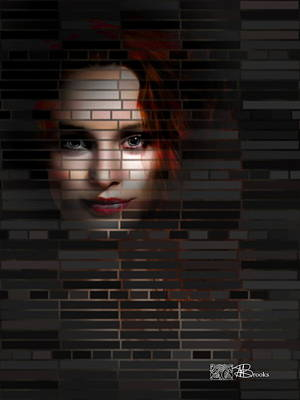 Fantastique Photograph - Dark Lady by Mark Brooks