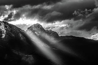 Photograph - Dark Light by Matteo Viviani