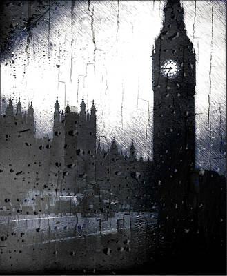 Digital Art - Dark London by Fine Art By Andrew David