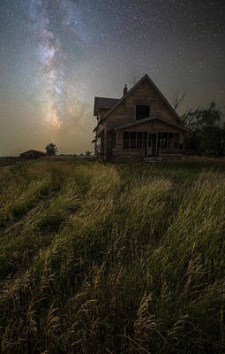 Photograph - Dark Manor by Aaron J Groen