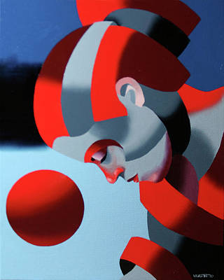 Dark Matter Painting - Dark Matter 7 by Mark Webster