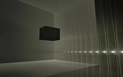 Digital Art - Dark Matter by GJ Blackman