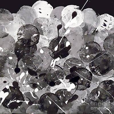 Depression Painting - Dark Matters by Jilian Cramb - AMothersFineArt