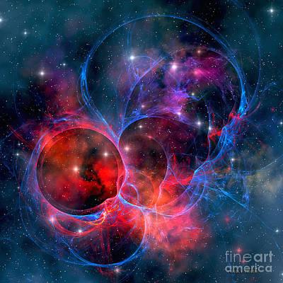 Dark Nebula Art Print