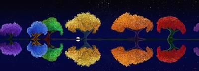 Digital Art - Dark Night Dance by Douglas Day Jones
