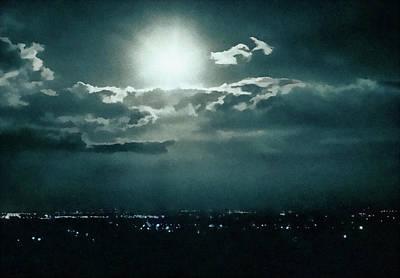 Dark Night Art Print by Paul Cristian Panaete
