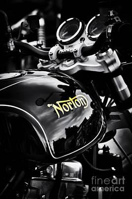 Photograph - Dark Norton by Tim Gainey