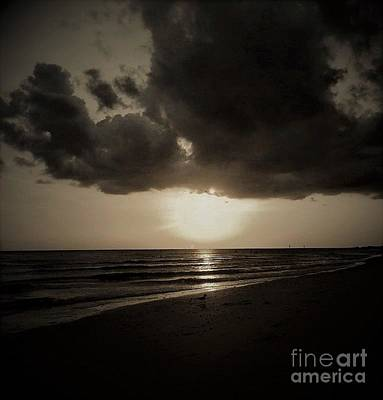 Dark Ocean 1 Art Print by Amanda Currier