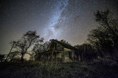 Photograph - dARK pLACES by Aaron J Groen