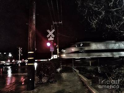 Photograph - Dark Rails by Jenny Revitz Soper