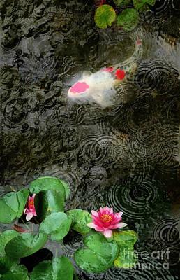 Dark Rain Art Print by Gina Signore
