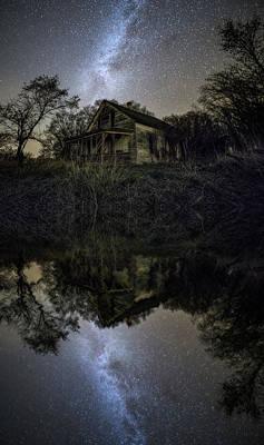 Photograph - Dark Reflection by Aaron J Groen