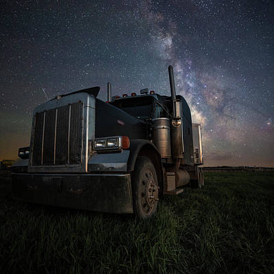 Photograph - Dark Rig by Aaron J Groen