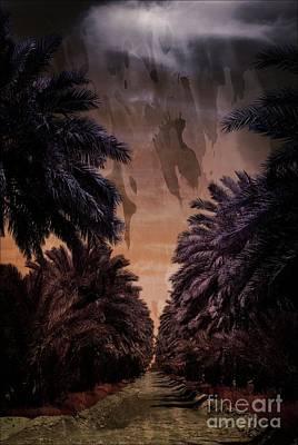 Mixed Media - Dark Road by Bob Pardue