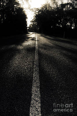 Future Photograph - Dark Road Of Shadows by Jorgo Photography - Wall Art Gallery