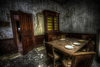 Old Home Place Digital Art - Dark Room by Nathan Wright