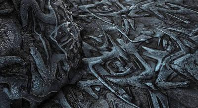 Digital Art - Dark Root In A Light by Anton Kalinichev