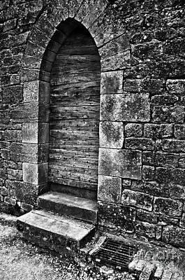 Photograph - Dark Secret Behind The Medieval Door by Silva Wischeropp