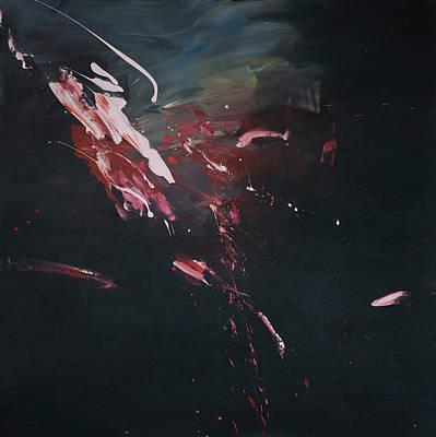 Painting - Dark Serie, I by Daniel Hannih