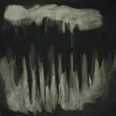 Dark Showers Art Print by Liz Maxfield
