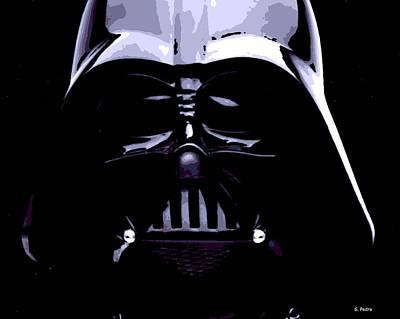 Epic Digital Art - Dark Side by George Pedro