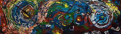 Painting - Dark Side Of An Angel by Gabi Dziok-Grubb