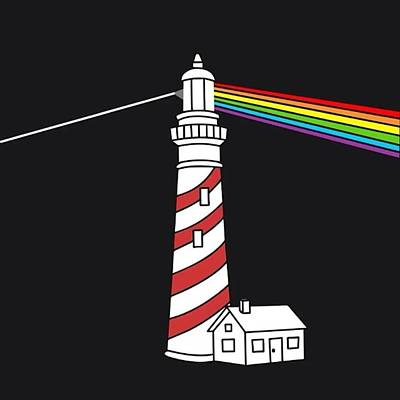 Pop Art Photograph - Dark Side Of The Lighthouse #art by Dadi Setiadi