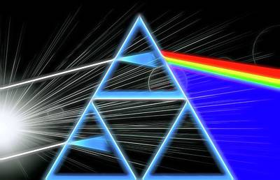 Music Digital Art - Dark Side Of The Moon by Dan Sproul
