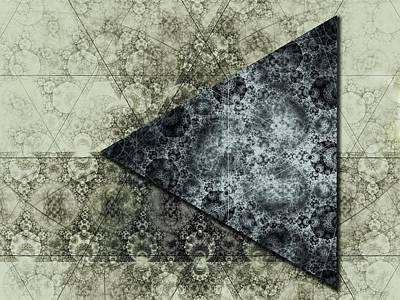 Wall Art - Digital Art - Dark Side Of The Moon by George Michael