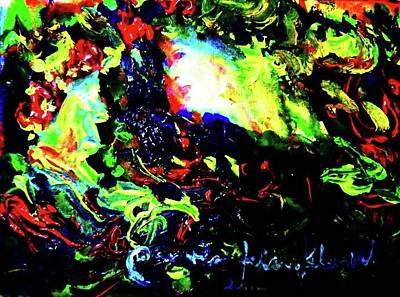 Painting - Dark Skies by Wanvisa Klawklean