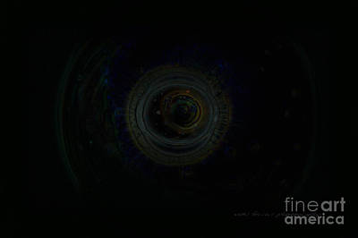 Digital Art - Dark Spaces by Vicki Ferrari