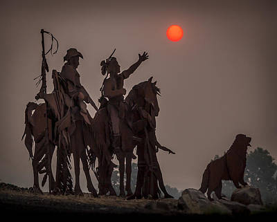 Photograph - Dark Sun Rising by Brad Stinson