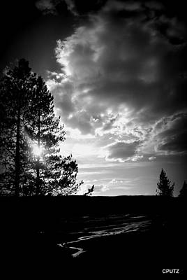 Photograph - Dark Sunset by Carrie Putz