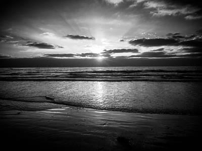 Photograph - Dark Sunset by Michael Damiani