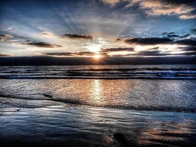 Photograph - Dark Sunset Tm by Michael Damiani