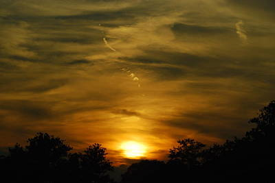 Photograph - Dark Sunset by Wanda Jesfield