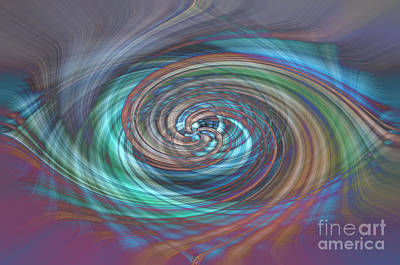 Photograph - Dark Swirls by Wanda Krack