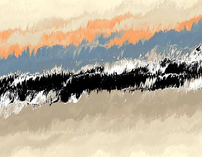 Digital Art - Dark Tide by Richard Ortolano