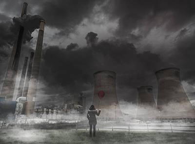 Power Photograph - Dark Times by Tom Olson