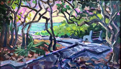 Painting - Dark To Light by Ralph Papa