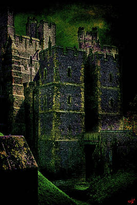 Arundel Castle Photograph - Dark Towers by Chris Lord