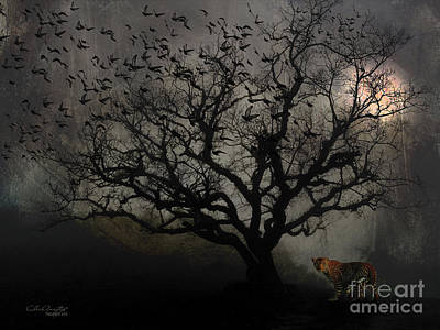 Digital Art - Dark Valley by Chris Armytage