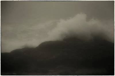 Photograph - Dark Waves by John Meader