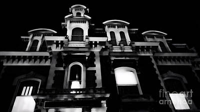 Haunted Mansion Digital Art - Dark Windows by Scott Chimber