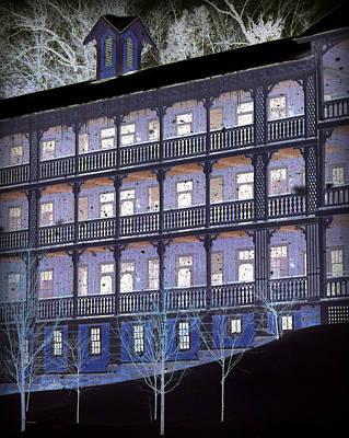 Photograph - Dark Winter Night by Mary Beth Landis