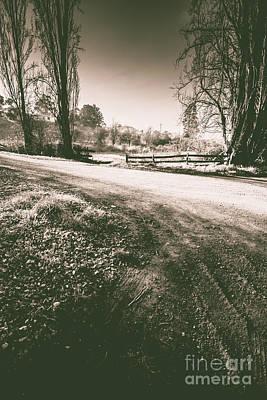 Dark Woods Way Art Print by Jorgo Photography - Wall Art Gallery